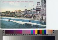 """""""Everyday Bathing Scene and Bathing Pavilion, Venice, California"""""""