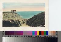 Malaga Canyon trail and gazebo near the Palos Verdes Beach and Athletic Club...