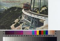 """Circular Bridge, Mt. Lowe, California. Elevation 4800 feet."" ca. 1900"