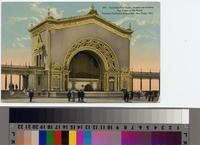 """""""Spreckels Pipe Organ, Largest out-of-doors Pipe Organ in the World. Panama-California..."""