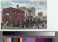 """On the Plaza de Panama, San Diego Panama California Exposition, 1915 All the..."
