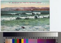 """Mile Rock Light House, Golden Gate, San Francisco, California."""