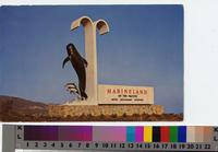 """""""Entrance Sign Marineland of the Pacific, Southern California"""""""