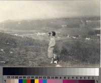 """""""Mme .Amelita Galli-Curci Enjoying the View from Her Estate Overlooking Malaga..."""