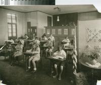 """Miss Garner's Room"" in Malaga Cove School, Palos Verdes Estates, California..."