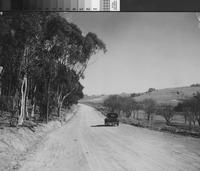 Automobile along Paseo del Campo, Palos Verdes Estates.
