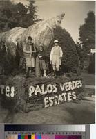 """Land of My Sunset Dreams"" float, Tournament of Roses Parade, Pasadena, California..."
