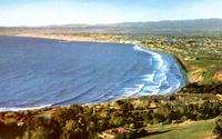 View north of South Bay Beaches from Palos Verdes