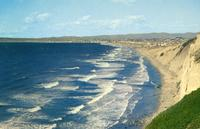 View north of South Bay Beaches from Palos Verdes.