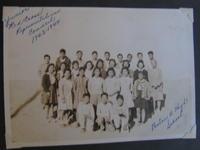 """Junior Red Cross Representatives Council 1943-1944, Poston II High School"""
