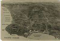 Diagram showing the proposed site for the southern branch of the University...